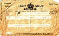 Telegram April 1941