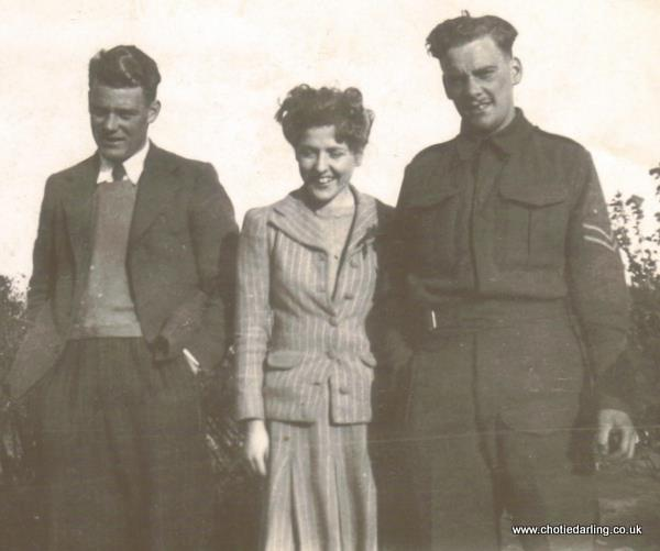 Michael?, Chotie and Corporal Williams