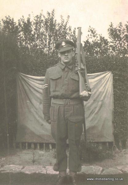 Corporal Dick Williams May 1941