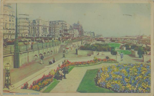 Brighton. Promenade Gardens