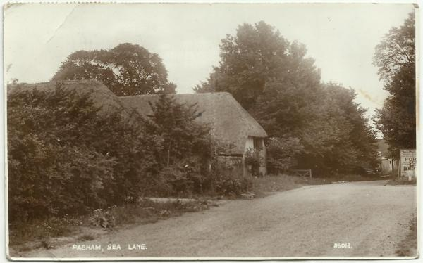 Pagham postcard Sept 43