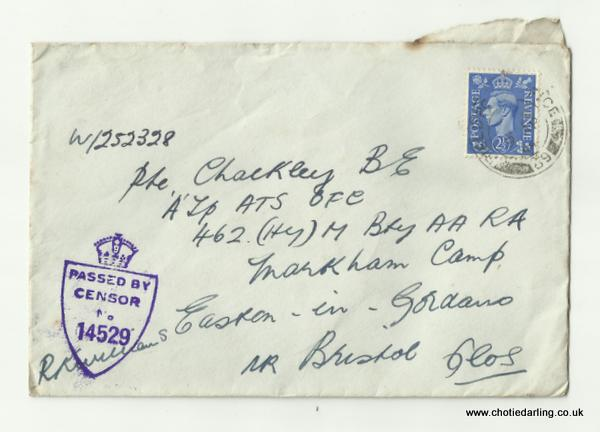 Envelope 9th April 1944