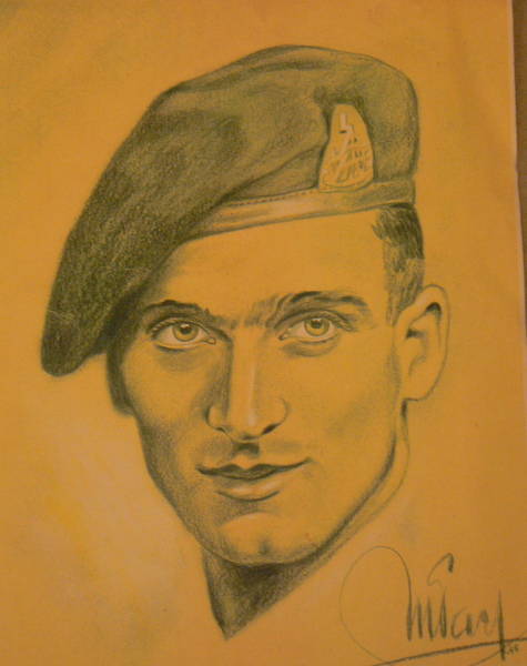 Eric Brewer portrait drawing