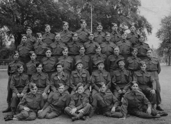 Eric Brewer Catterick Camp 1943