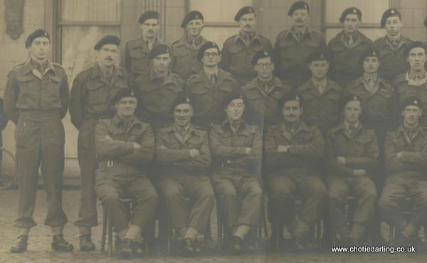 High res 61st Recce officers group right