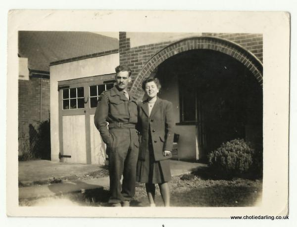 Dick & Chotie 8th March 1945
