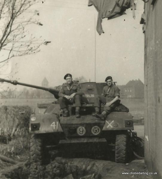 Dick in Ginderich march 1945