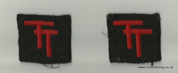 Dick's TT badges