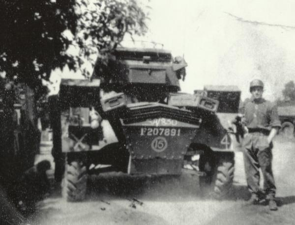 Sandy Handley July 1945