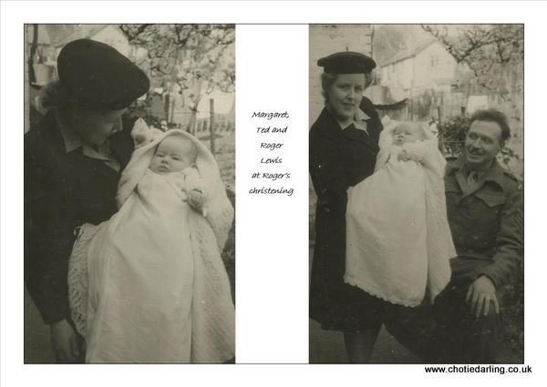 Roger's christening