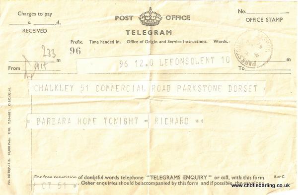Telegram January