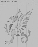 Wyvern 43rd Recce badge small