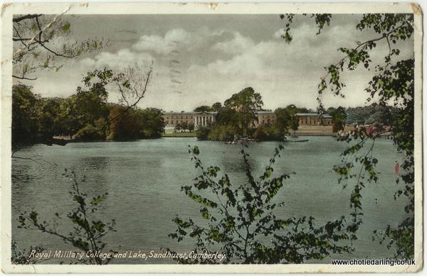 Sandhurst postcard front