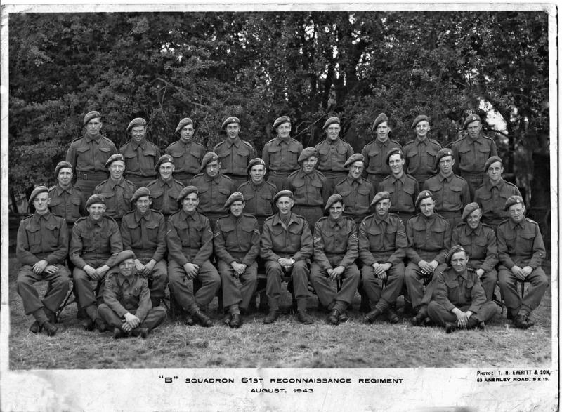 B Squadron 61st Recce August 1943