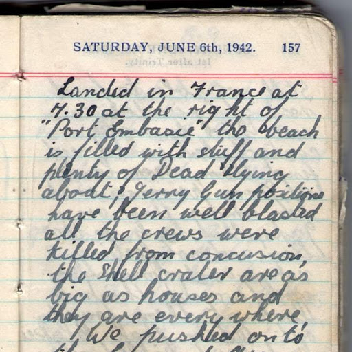 Eric Brewer's D day diary