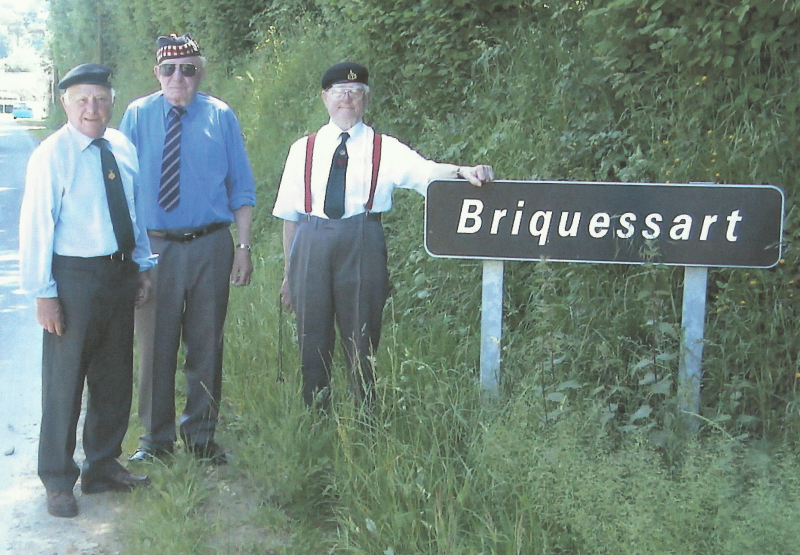 Anthony Rampling  Sandy Handley and friend return to Briquessar (2)