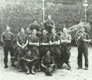 Eric Postles and 61st Recce 'B' Squadron's 10 Troop