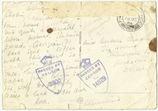 Postcard of bridge written 18th Oct 44 back (2)